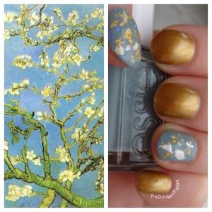 PhD in Nail Polish Van Gogh's Almond Blossoms