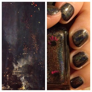 NailArtHistory101 Whistler and CbL