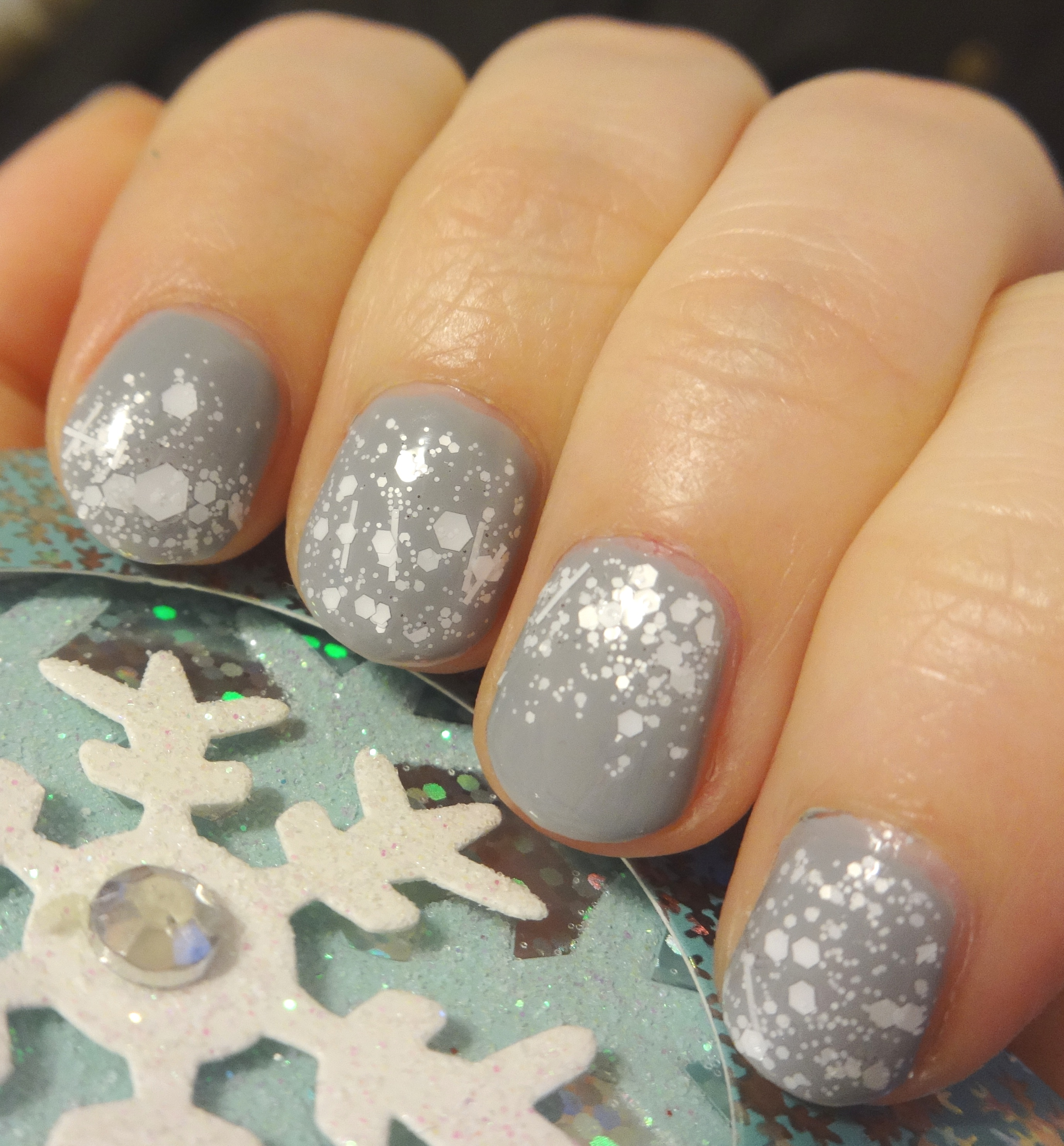 "Winter Storm Watch with Julep ""Dendrie"" and Sephora Formula X ""Wham!"""