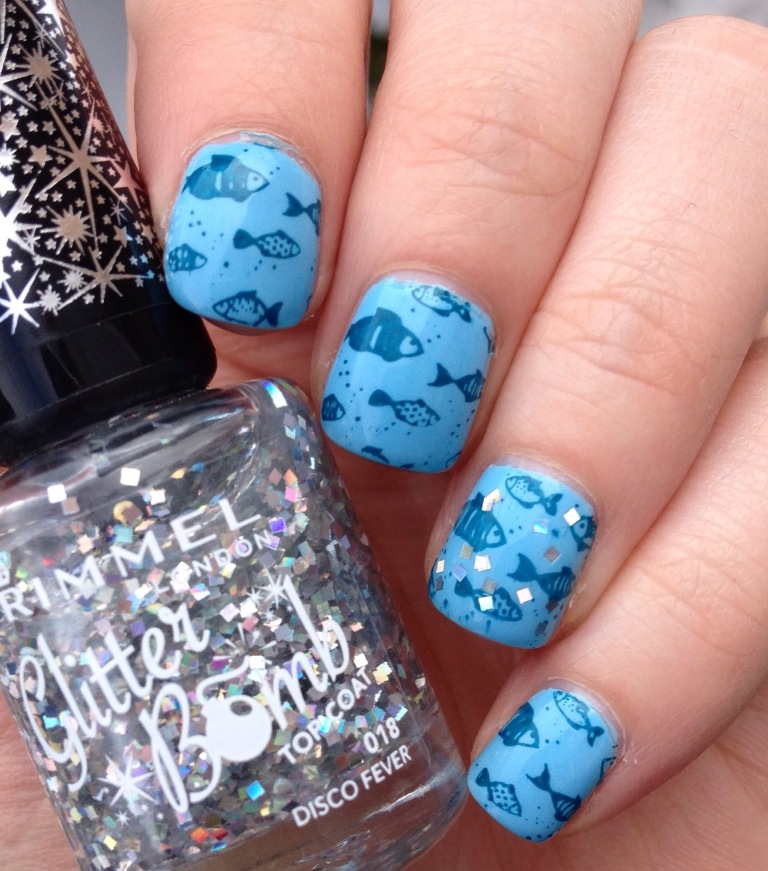 julep jeanne casey stamping fish rimmel