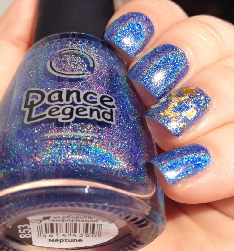 dance legend neptune wing dust gilty pleasure blue gold holo