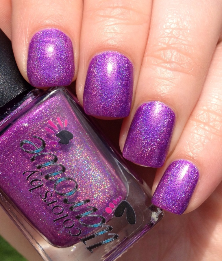 colors by llarowe my own private paradise purple holo