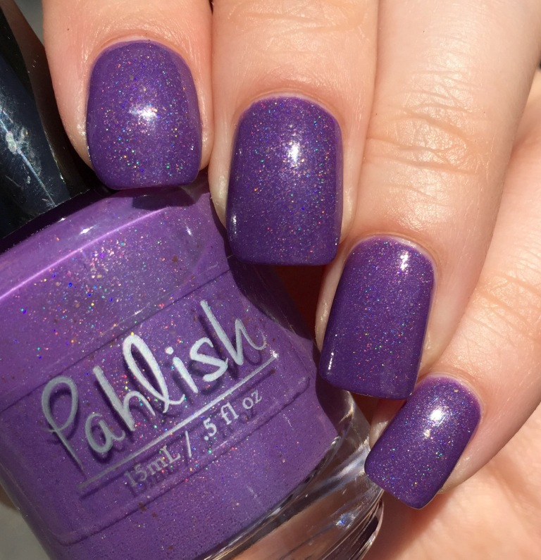 pahlish howling ghosts purple holo