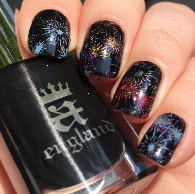 fireworks stamping with aengland