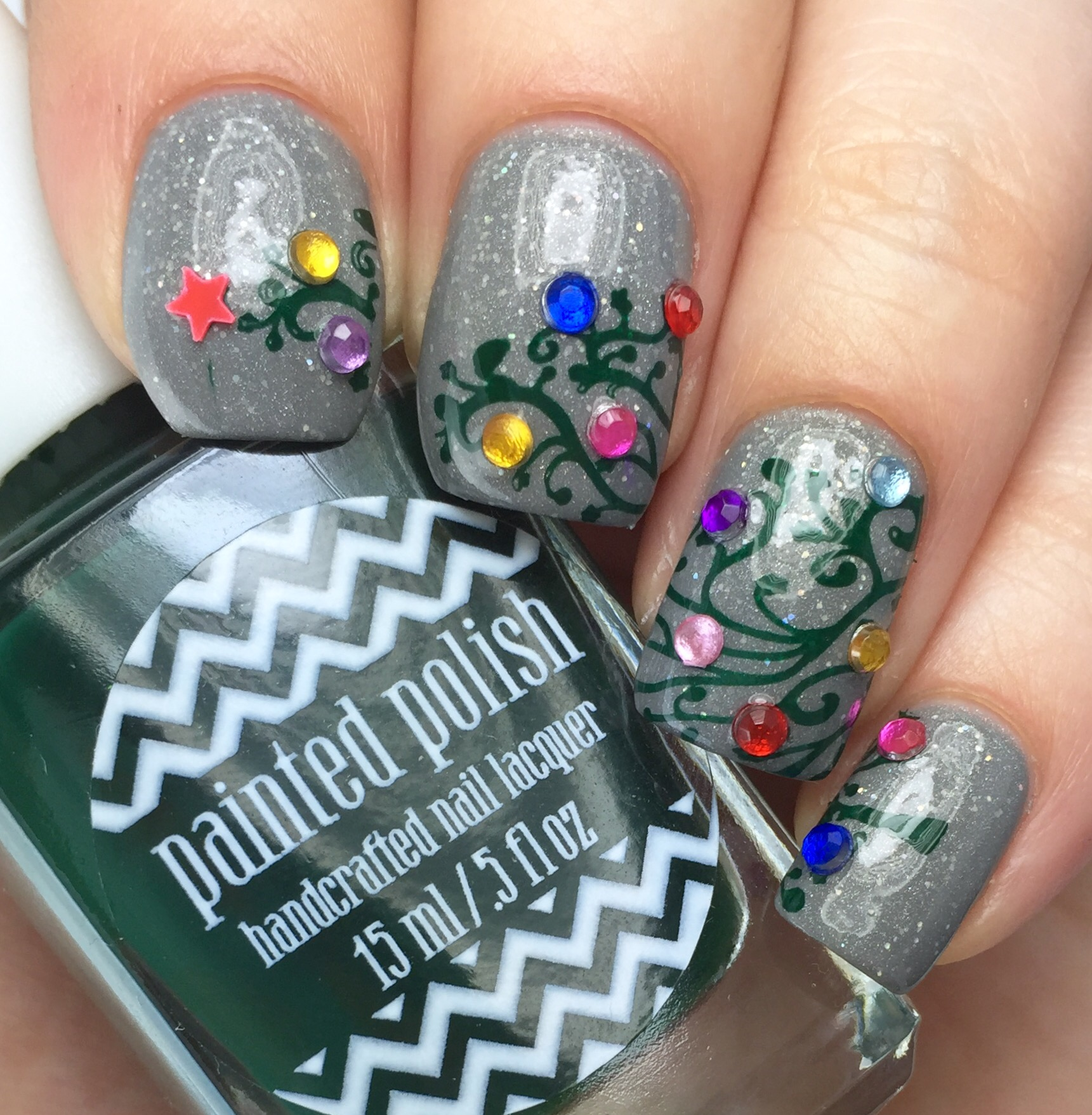 "Silent Night Nails with Love, Angeline ""Topped with Love"" – PhD in ..."