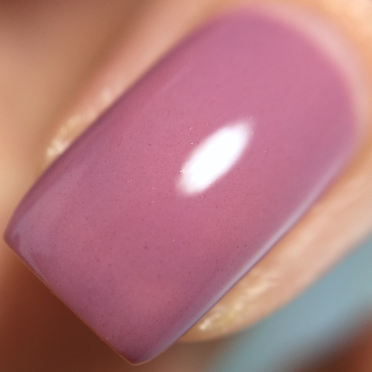 Mauve Pepper Pot creme nail polish